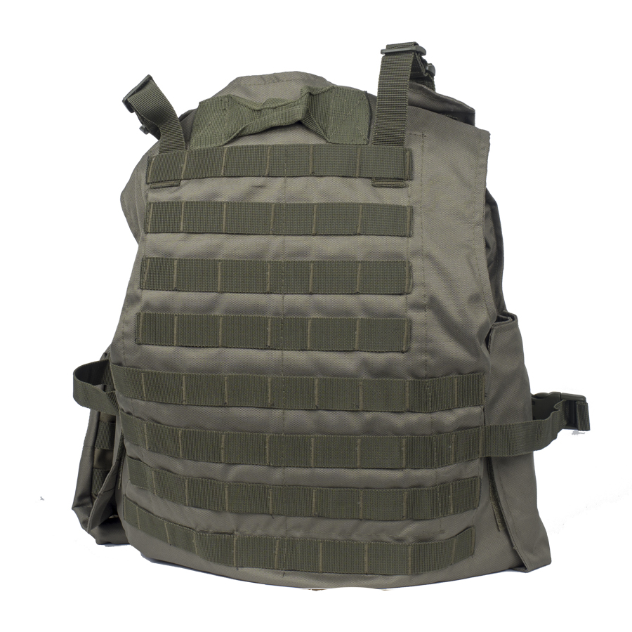 GO! Plate Carrier MOLLE Vest Olive Game On! Norges