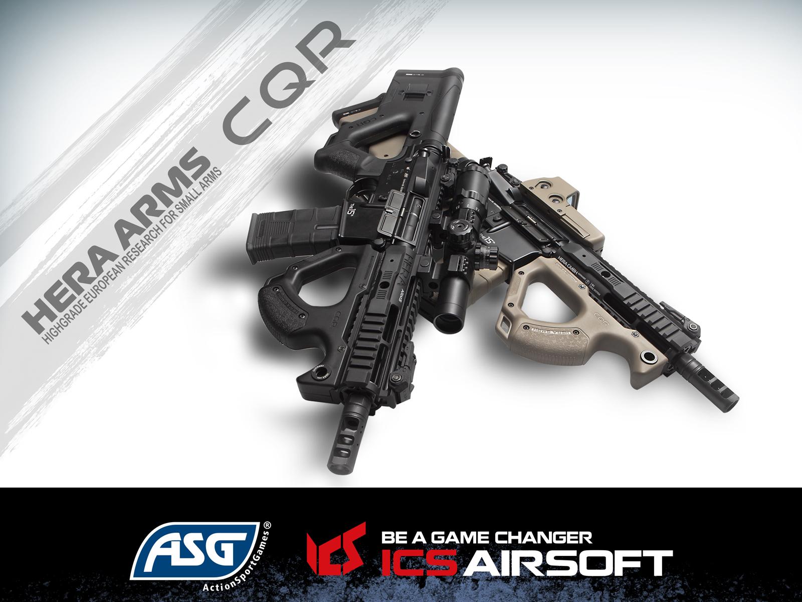 Hera Arms - CQR Elektrisk Softgunrifle Proline - Svart - Game-On