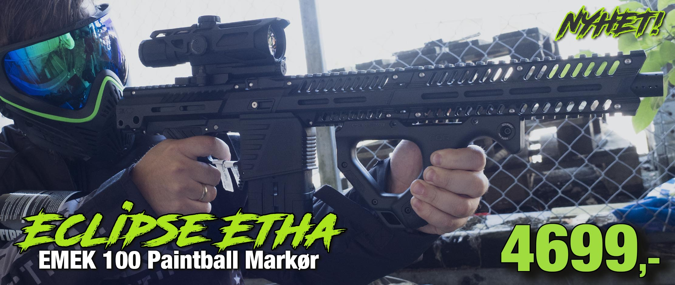 Eclipse Etha EMEK 100 Paintball Markør