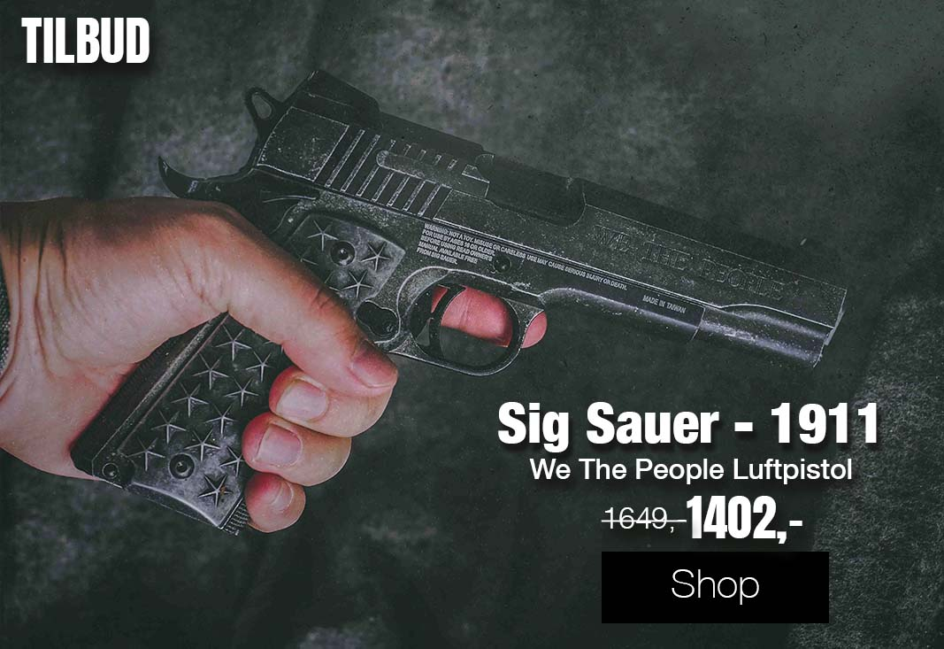 Sig Sauer - 1911 We The People Luftpistol med Blowback - 4.5mm B